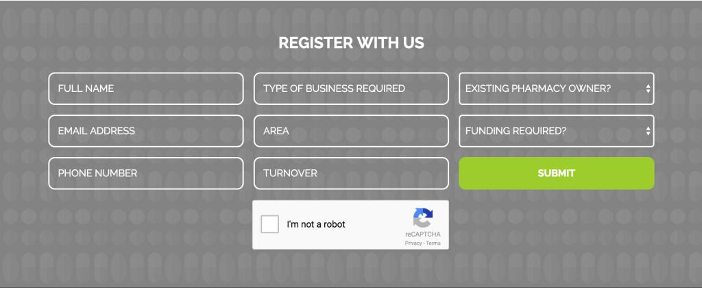 Pharmacy Seekers reCAPTCHA